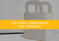 Cultural knowledge for trainers
