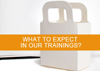 What to expect in our trainings?